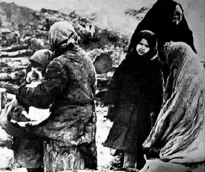 «Дети войны в дни Сталинградской битвы»